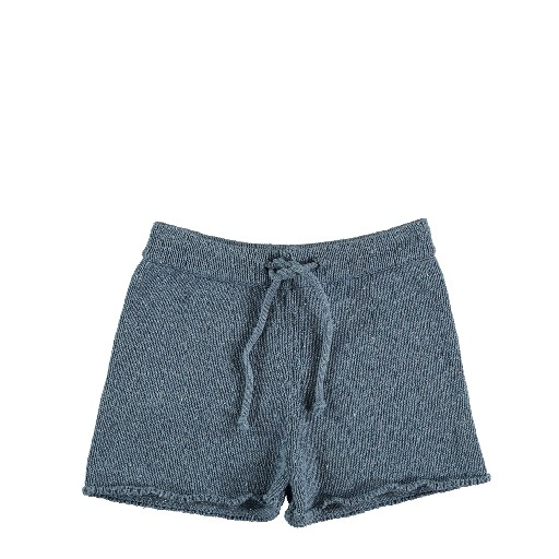 Kids shoe online The new society shorts Knitted shorts blue