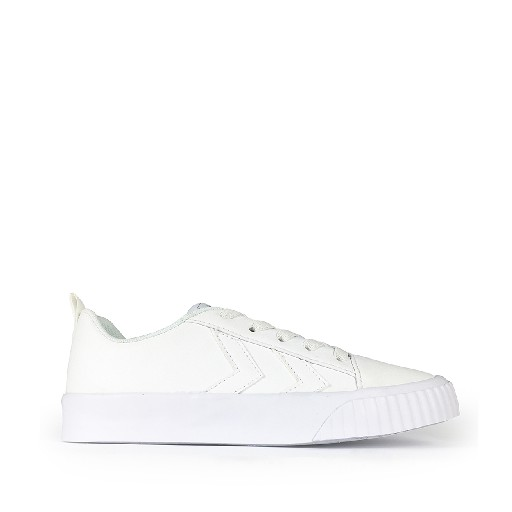 Kids shoe online Hummel trainer White lace sneaker