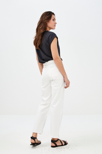By-Bar  trousers Mojo jeans off white women