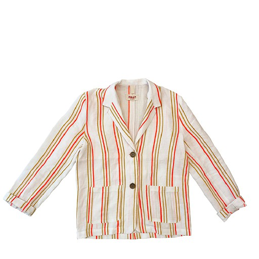 Kids shoe online Maan jackets Striped elegant blazer