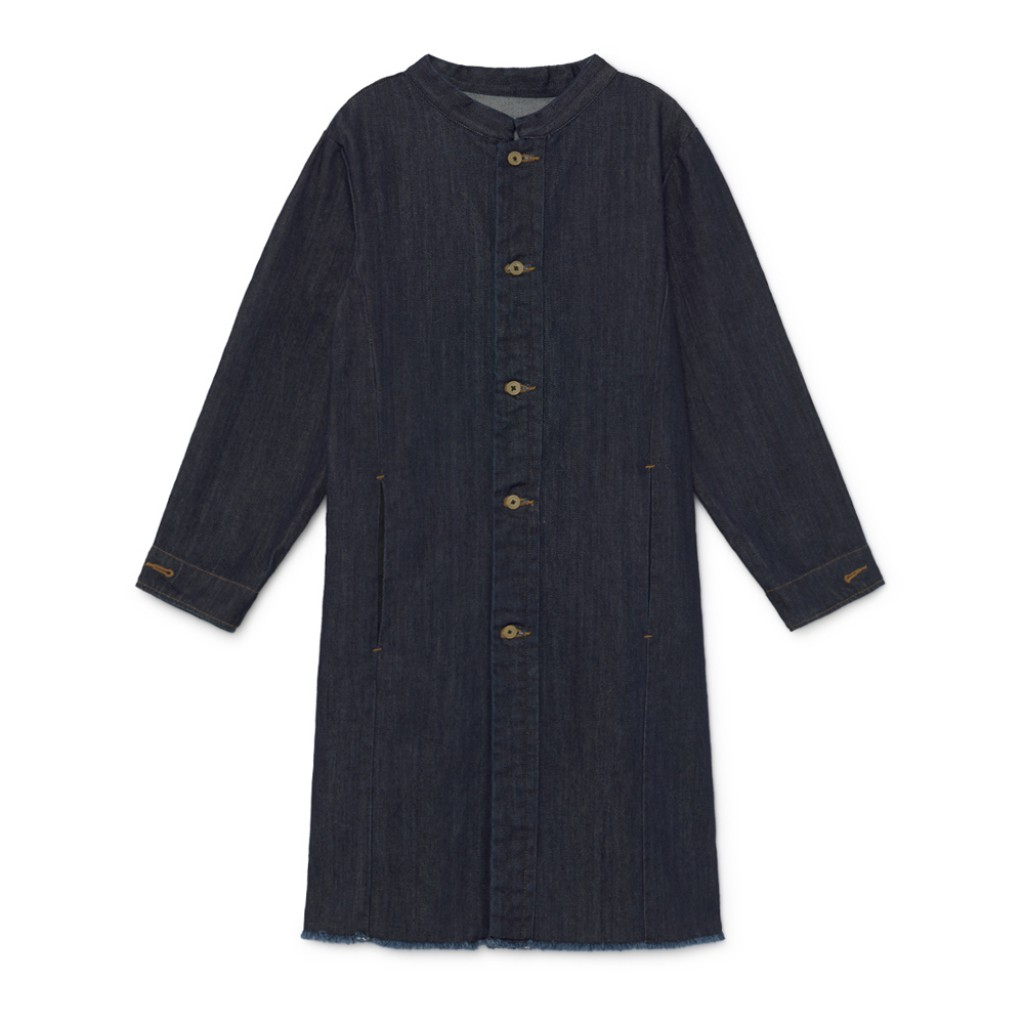 Little Creative Factory - Denim long summer coat