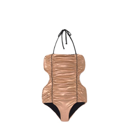 Kids shoe online Little Creative Factory bathing suit Vintage trikini copper