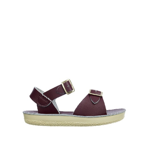 Kinderschoen online Salt water sandal sandalen Salt-Water Surfer sandaal in claret
