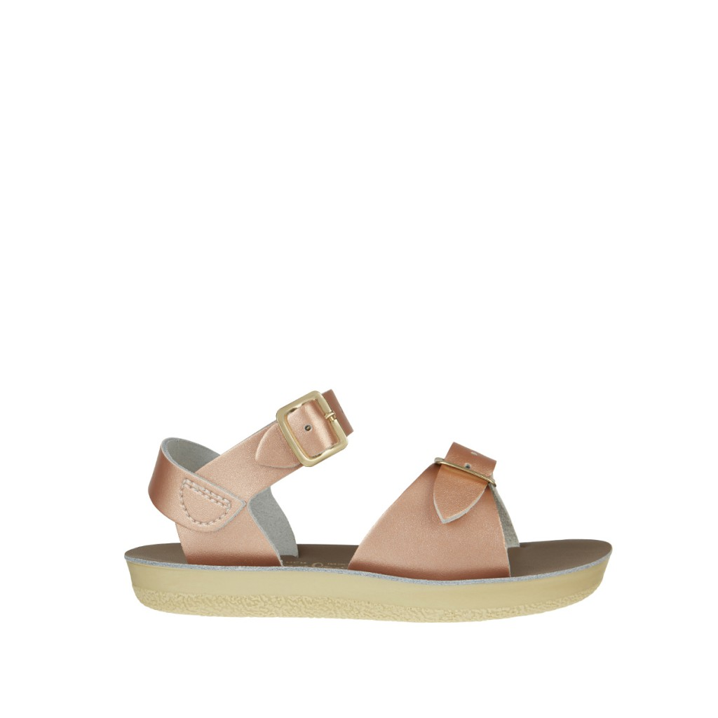 Salt water sandal - Salt Water Surfer sandal in rose gold
