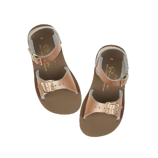 Salt water sandal sandals Salt Water Surfer sandal in rose gold