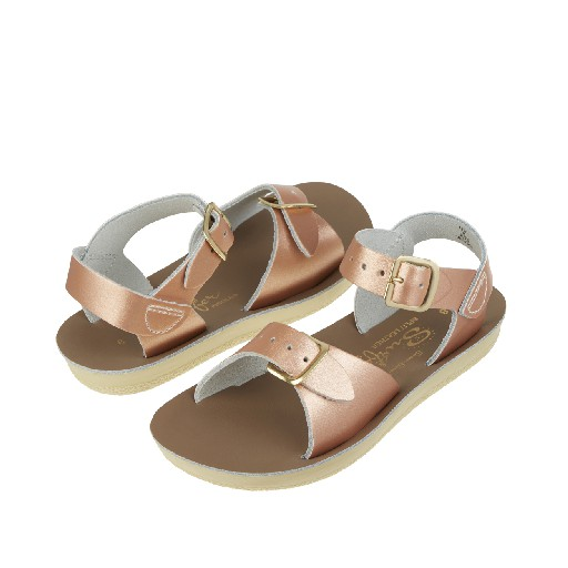 Salt water sandal sandal Salt Water Surfer sandal in rose gold