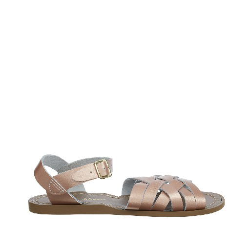 Kinderschoen online Salt water sandal sandalen Salt-Water Retro in rosé goud