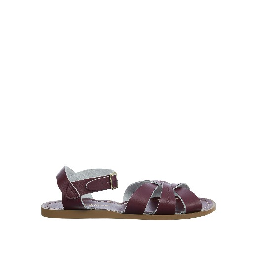 Kinderschoen online Salt water sandal sandaal Salt-Water Original in claret