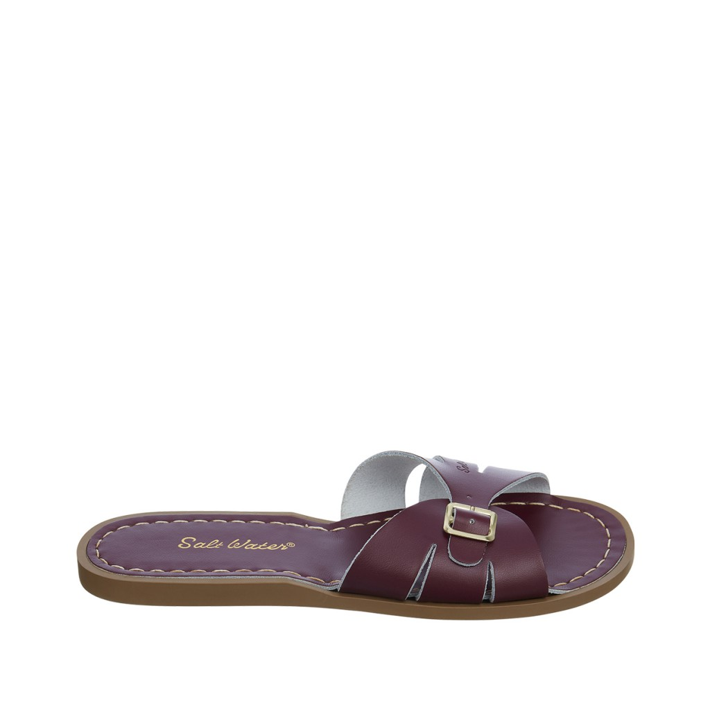 Salt water sandal - Salt-Water Classic Slides in claret