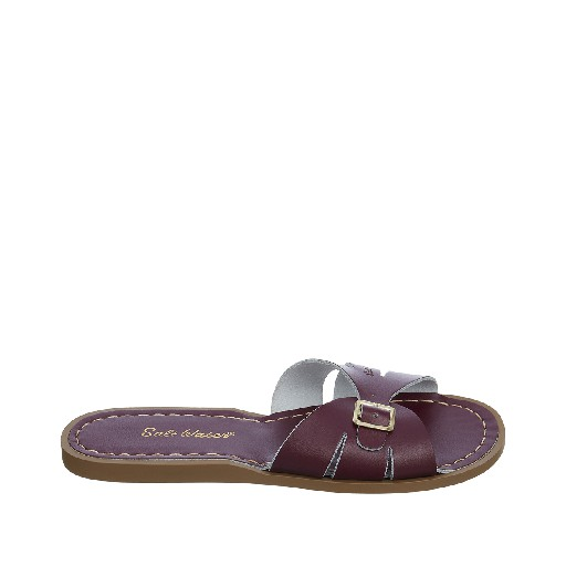 Kinderschoen online Salt water sandal sandaal Salt-Water Classic Slides in claret