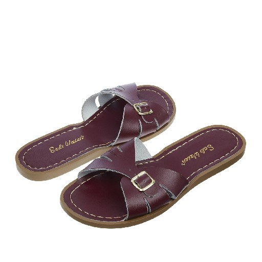 Salt water sandal sandals Salt-Water Classic Slides in claret