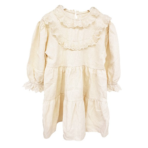 Kids shoe online Anna Pops dresses Off white lace dress