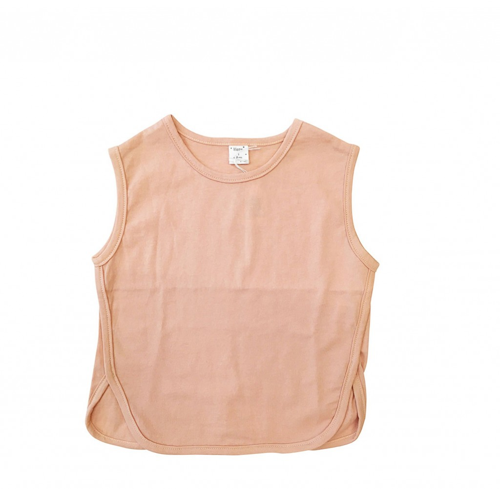 Anna Pops - Sleeveless Top peach