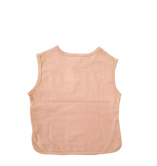 Anna Pops tops Sleeveless Top peach