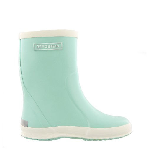 Kids shoe online Bergstein wellington boot Pastel mint wellington boot