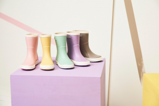 Bergstein wellington boot Pastel sand wellington boot