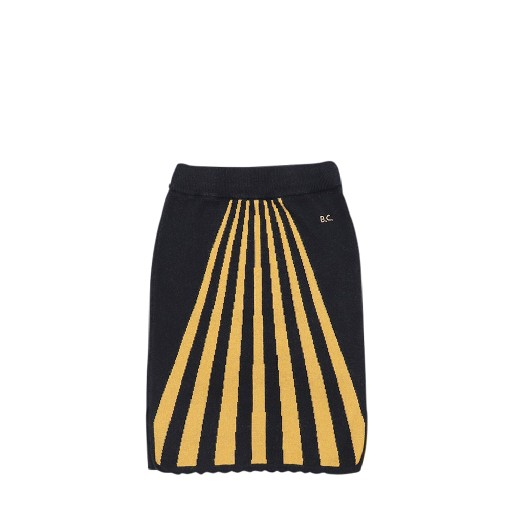 Kids shoe online Bobo Choses skirts Knitted skirt with yellow stripes