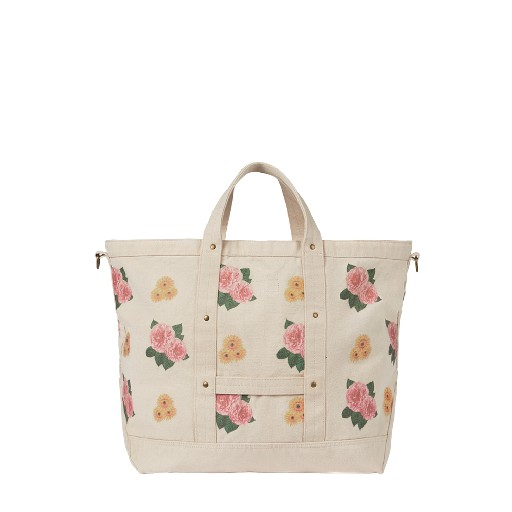 Kids shoe online The Animals Observatory bags Big bag with flower pattern