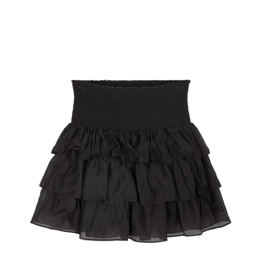 Kids shoe online Designers Remix skirts Black skirt with ruffles