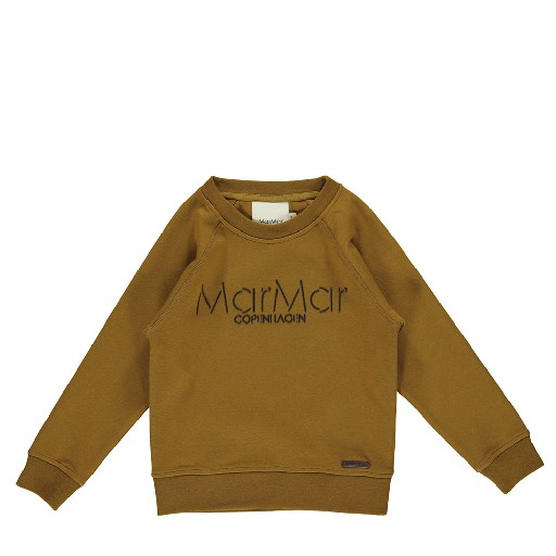 Kids shoe online MarMar Copenhagen jersey Olive sweater with print