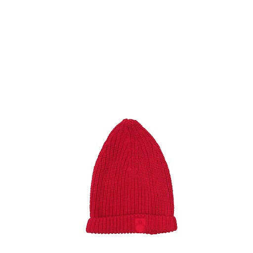 Kids shoe online Main Story hats Red knitted beanie