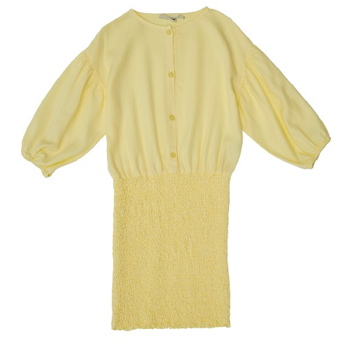 Kids shoe online The Campamento dresses Yellow smocked dress