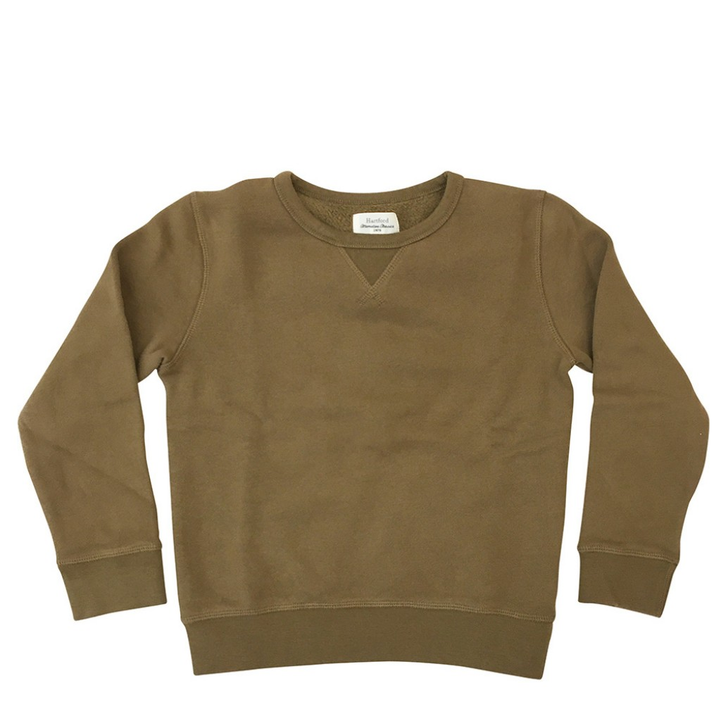 Hartford - Khaki green sweatshirt