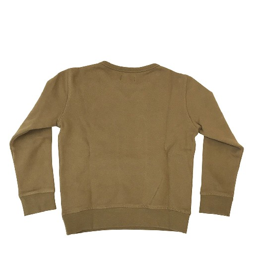 Hartford sweaters Khaki green sweatshirt