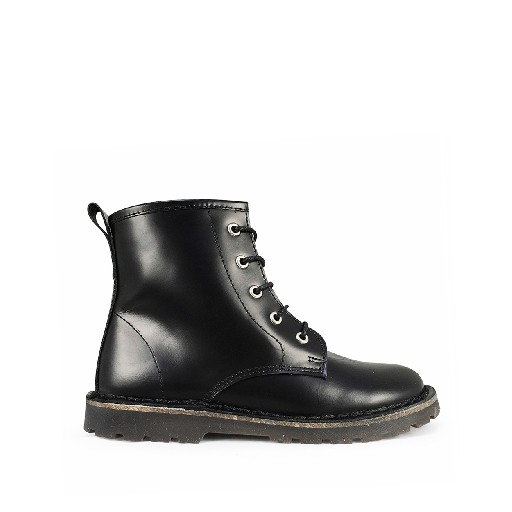 Kids shoe online Two Con Me by Pepe boot Black lace boot