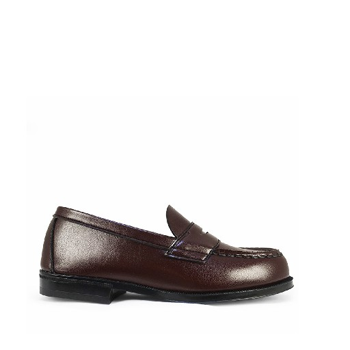 Kids shoe online East end Highlanders loafers Loafer brown / bordeaux