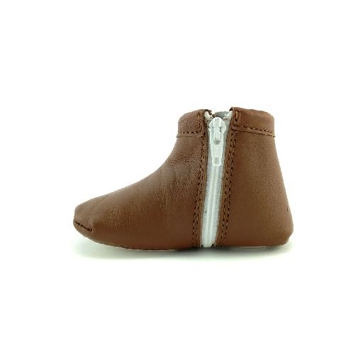 Stabifoot slippers Cognac pre walker/slipper