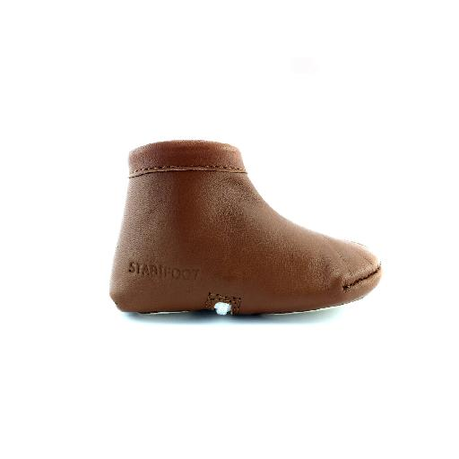 Kids shoe online Stabifoot slippers Cognac pre walker/slipper