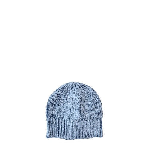 Kids shoe online Aymara hats Blue knitted beanie