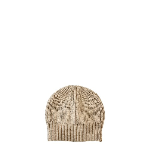 Kids shoe online Aymara hats Beige knitted hat