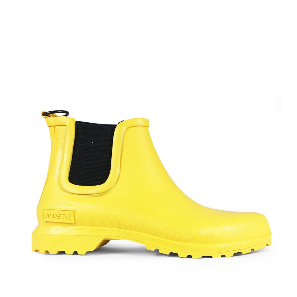 Novesta wellington boots Yellow chelsea boots