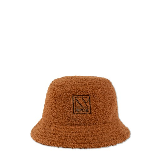 Repose AMS caps Bucket hat in fluffy caramel