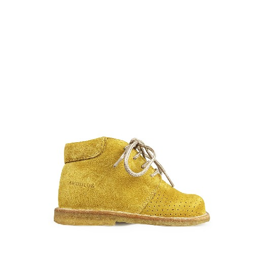 Kids shoe online Angulus first walkers First stepper in yellow