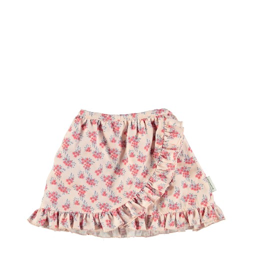 Kids shoe online Piupiuchick skirts Mini skirt with flowers