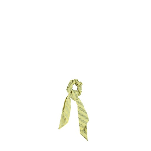 Kids shoe online Piupiuchick hairaccessories Yellow hair band with grey stripes