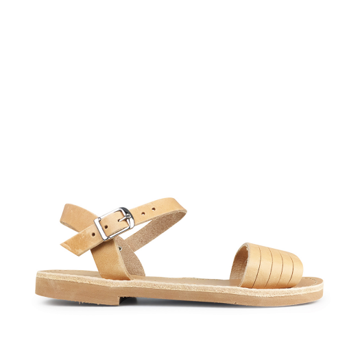 Kids shoe online Théluto sandals Natural leather sandal