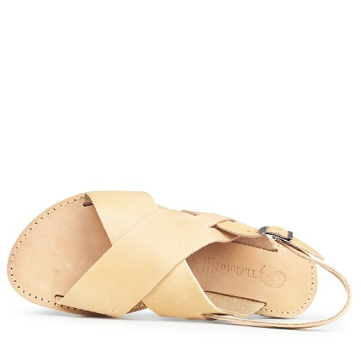 Théluto sandals Natural leather sandal