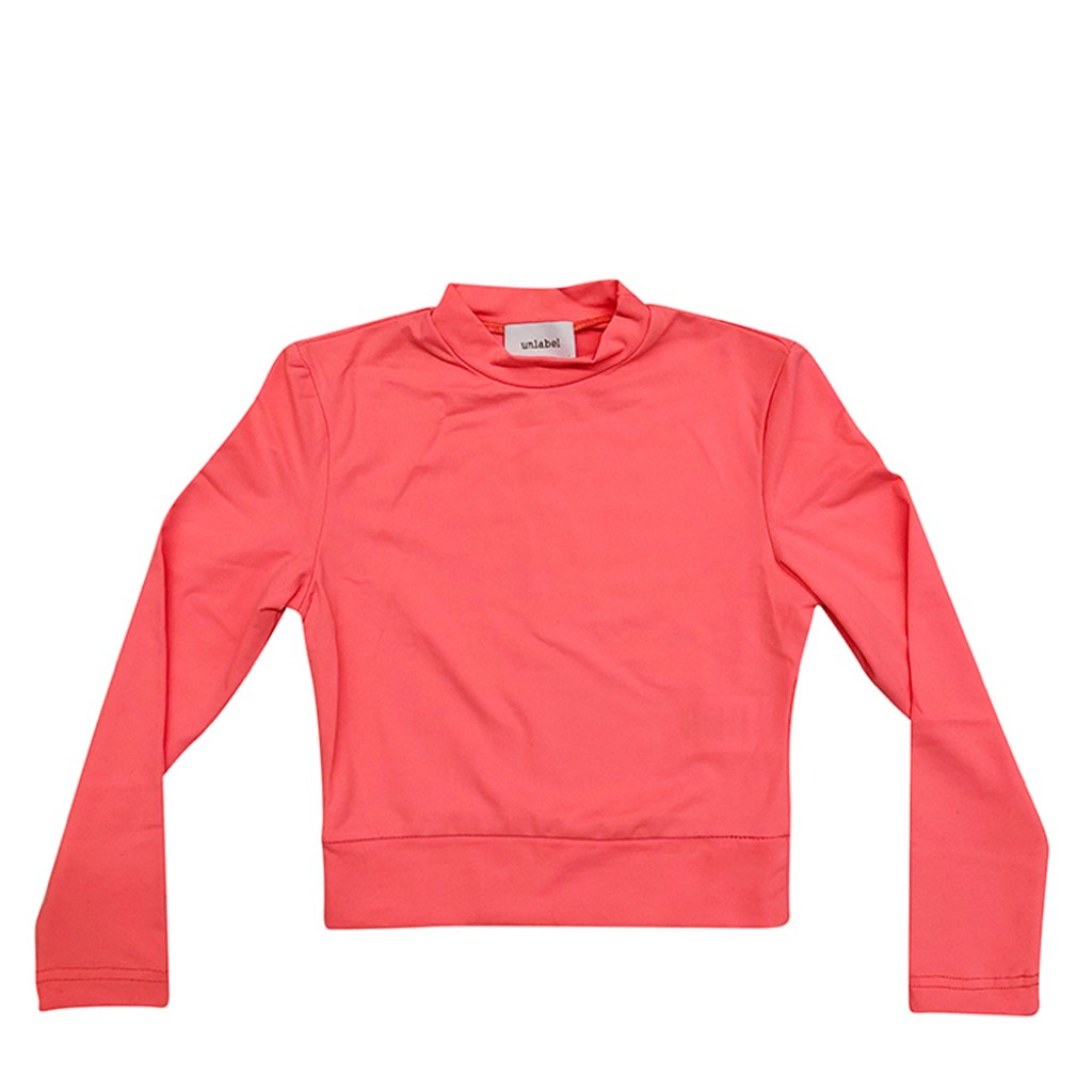 Unlabel - Neon pink crop top