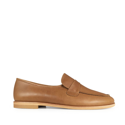 Kids shoe online Beberlis loafers Brown loafers