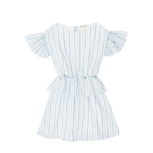 Kids shoe online The Campamento dresses Striped dress with details