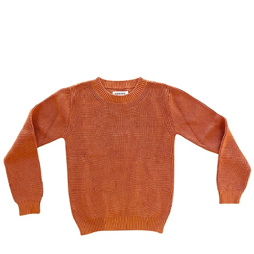 Kids shoe online Aymara jersey Copper cotton jumper