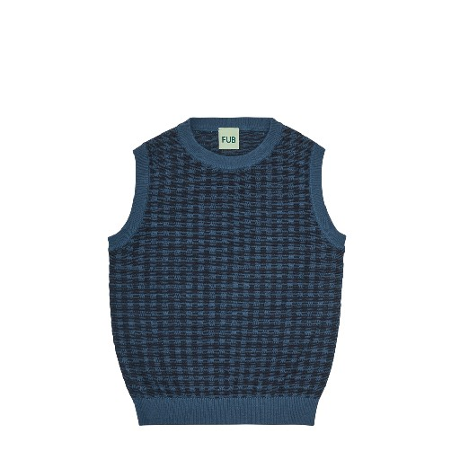 FUB jersey Dark blue checkered vest