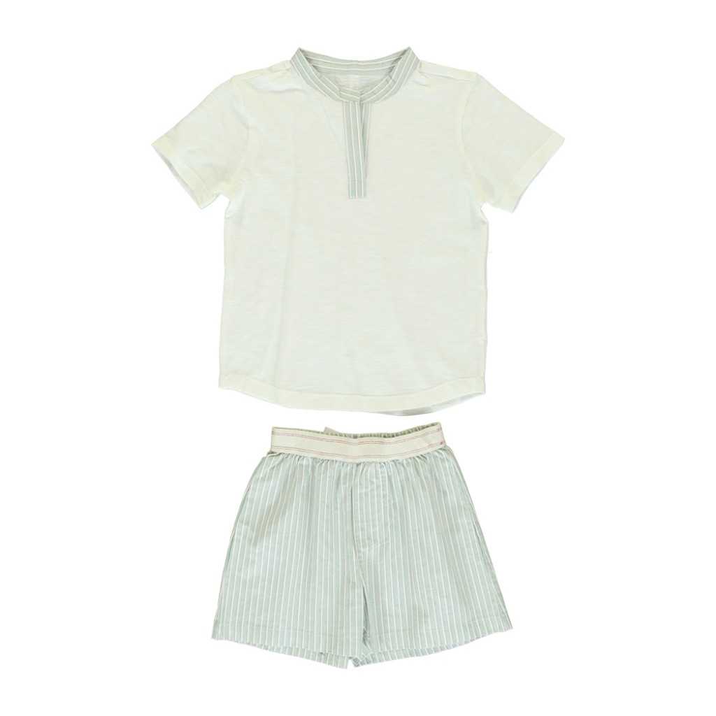 Dorélit - Pyjamas with striped details and shorts