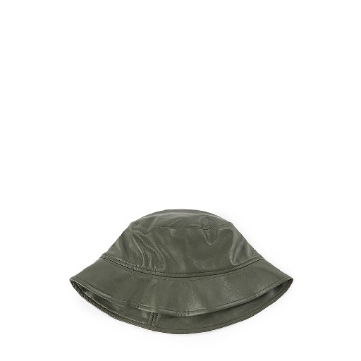 Kids shoe online Designers Remix hairaccessories Olive bucket hat