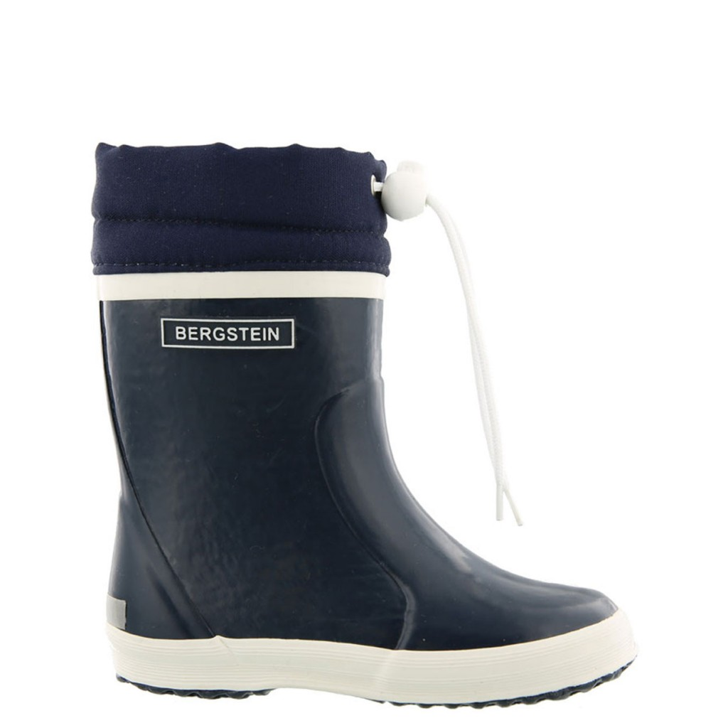 Bergstein - Darkblue winter wellington boot with wool