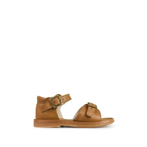 Kids shoe online Beberlis sandals Brown sandal